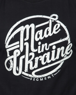 Світшот Made in Ukraine, чорний - 1