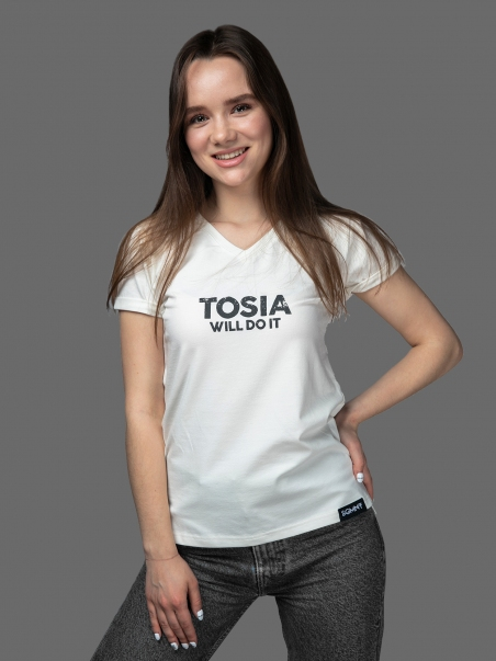Футболка жіноча TOSIA Will Do It